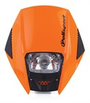 Frontmaske universell orange