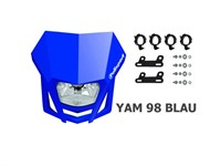 Frontlampe LMX Halogen 12V 35/35W CE, blau Yamaha, universal