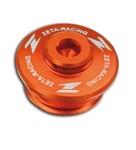 Motorenöleinfülldeckel ZETA orange KTM