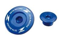 Motorendeckel-Schraube ZETA blau Yamaha 2006 ->