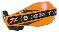 Handschützer orange ZETA mit Halterung