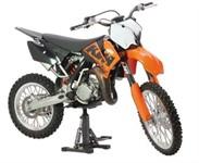 Motorradständer hydraulisch schwarz