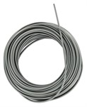 Kabelhülle 3.4x7mm pro 1m grau für Bremskabel Vespa hinten
