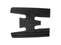 Fussmatte Gummi Vespa PX 125-200 schwarz