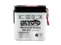 Batterie 6V 6N6-1D-2 Kyoto (leer)