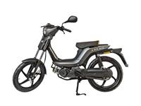 Bye Bike One Mofa, grau-schwarz, Kategorie M, 30km/h, kurze Sitzbank