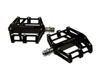 Pedal-Set EXUSTAR CNC Alu schwarz (Paar)