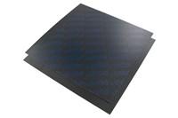 Carbonplatten, Polini, 110x110mm, Stärke 0,30mm Blau