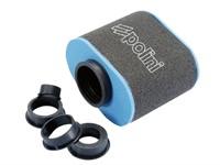 Airbox Polini Big Evo blau/schwarz 35mm/45mm/49mm