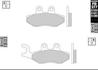 Bremsbelag Galfer Sinter-Scooter (Paar) 76.8 x 41.8 x 9.0 mm/96.9 x 41.2 x 9.0 mm