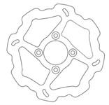 Bremsscheibe Galfer Wave Disc vorne 220/54/4mm