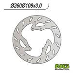 Bremsscheibe NG 260/108/3mm 6 Loch