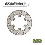 Bremsscheibe NG 220/105/4mm 6 Loch