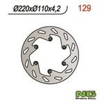 Bremsscheibe NG 161/48/3.5mm 4 Loch