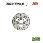 Bremsscheibe NG 160/39/4mm 3 Loch