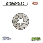 Bremsscheibe NG 150/45/3mm 5 Loch