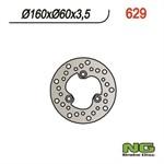 Bremsscheibe NG 160/60/3.5mm 3 Loch