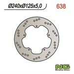 Bremsscheibe NG Brake Disc 240/125/5mm (5 Loch)