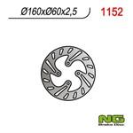 Bremsscheibe NG 160/60/2.5mm 4 Loch