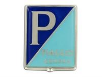 Emblem Piaggio Genua mit Logo