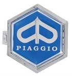 Emblem Piaggio zum Stecken 37x32.5mm