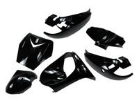 Verkleidungskit TunR, Peugeot Vivacity bis Bj. 2008, schwarz, lackiert, 6-teilig