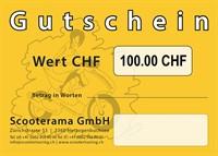 Gutschein, Wert 100.-