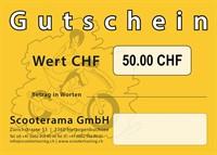 Gutschein, Wert 50.-