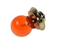 Birne 6V/15W, Sockel P26S, orange