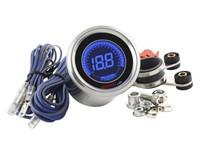 Drehzahlmesser KOSO Black LCD, DL-01R, D=48, Digital Display, beleuchtet blau auf schwarz