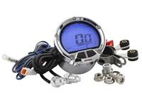 Drehzahlmesser - DL-02R KOSO, rund d=55mm, LCD-Anzeige (Balken im Uhrzeigersinn)
