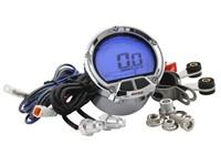 Drehzahlmesser - DL-02R KOSO, rund d=55mm, LCD-Anzeige (Balken gegen den Uhrzeigersinn)