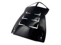 Durchgang über Hinterrad MTKT, Peugeot Speedfight 2, schwarz , für Originalrücklicht vorbereitet