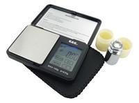 Taschenwaage Digital, mit LCD Touchscreen, 100g / 0,01g