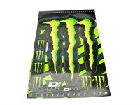 Stickerset (Stickerbogen) Monster Energy, 50x28cm