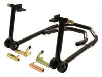 Motorradständer Universal hinten/vorne mit  Adapter L und V