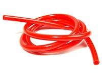 Benzinschlauch, 1 Meter, Ø=5mm, Rot