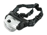 Stirnlampe/Kopflampe Motoforce, 19 LEDs