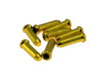 Kabelendhülse / Quetschhülse Gold, 2mm