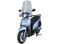 Windschutzscheibe Fabbri exklusive, Honda SH 300, Bj. 2007 - 2010