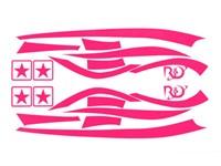 Aufkleberkit R&D replica, Zip SP 1, Pink, 70x40