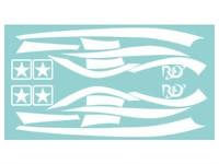 Aufkleberkit R&D replica, Zip SP 1, Weiß, 70x40