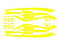 Aufkleberkit R&D replica, Zip SP 1, Gelb, 70x40