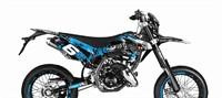 Dekor Kit Verkleidung Stage6 Beta RR blau - schwarz