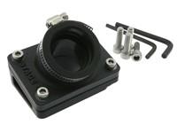 Ansaugstutzen & Spacer, Stage6 R/T, Piaggio - d=28mm - Schwarz