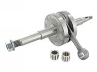 Kurbelwelle Stage6 R/T, 44mm Hub, 85mm Pleuel, inkl. Lager für 12mm- & 13mm-Kolbenbolzen, Minarelli