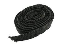 Auspuffband Stage6, bis 1100°C, 3800x25mm, schwarz