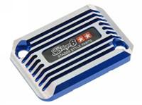 Bremszylinder Abdeckung Stage6 CNC Cooling style, Nitro / Aerox, Blau eloxiert