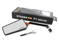 Spiegel Stage6 F1, links, carbon (Glanz)