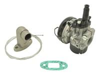 Vergaser-Set Dellorto SHA 15/15mm, inkl. Stutzen für Puch